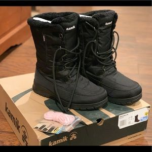 Kamik Snow Boots - Brooklyn Black